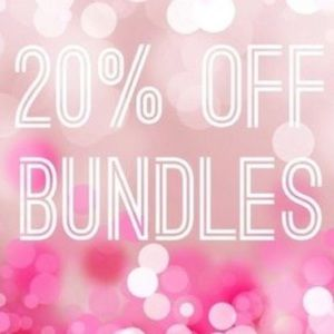 20% off all Bundles today - Fast Shipping Too 😁